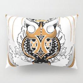 Smoking Copperhead Dragon Pillow Sham