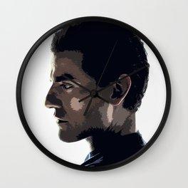 Oscar Isaac 8 Wall Clock