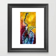 Latent Framed Art Print