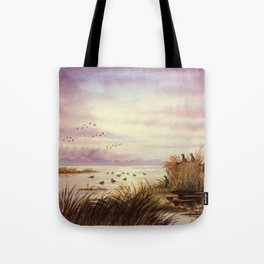 Duck Hunting Companions Tote Bag