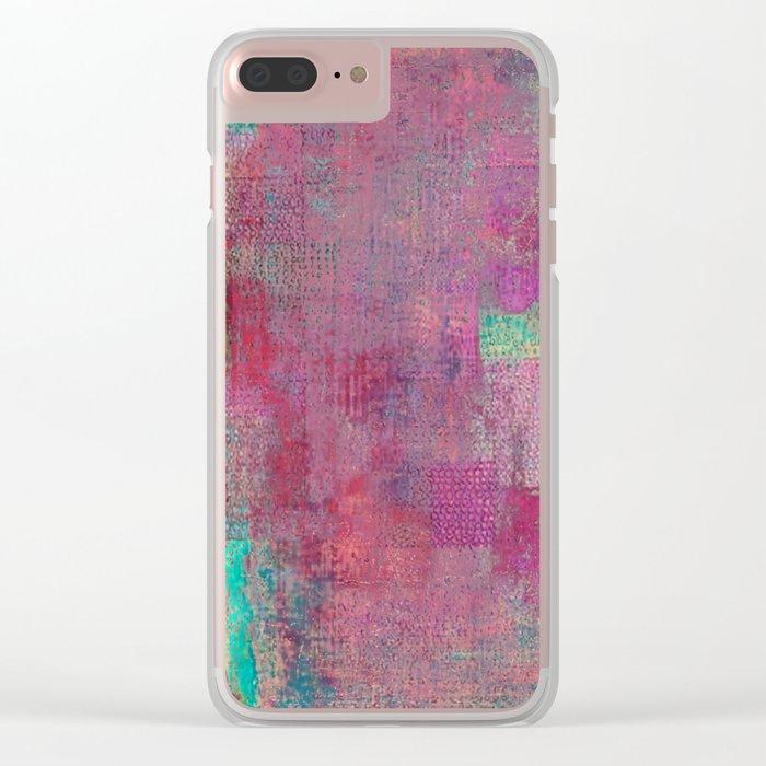 Lake Retba (Lac Rose) Clear iPhone Case