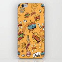 Banging Comics iPhone Skin