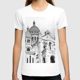 French Sacre Coeur church in Paris T-shirt