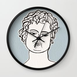 Manneken Pis sculpture Wall Clock