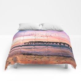 Bird Heart at Sunrise Comforters