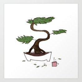 Bonsai 2 Art Print