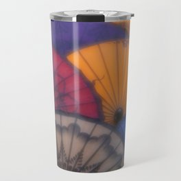 Burmese Old Paper Parasol Travel Mug