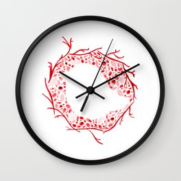 Little Bird Nest Wall Clock