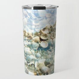 see through the shells Travel Mug