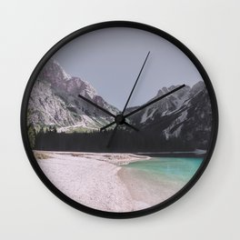 We Are Marooned Wall Clock