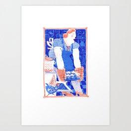 The Baker Art Print