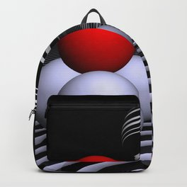 ball pyramids Backpack