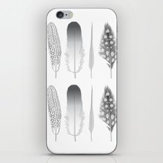 Feathers Trio iPhone & iPod Skin