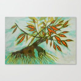 withered tree (original sold) Canvas Print
