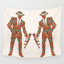 The flower gang  Wall Tapestry