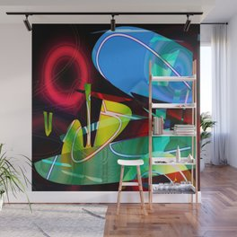 Jazzed Wall Mural