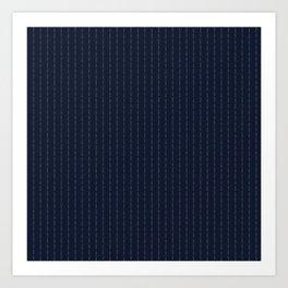 Conor Mcgregor SuiT F*ck You Navy Art Print