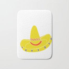 Nacho Basic Maid Of Honor Funny Mexican Wedding Bath Mat