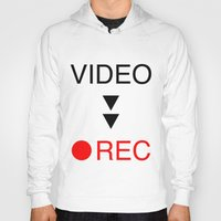 parks and rec Hoodies featuring video rec by Takeru Amano