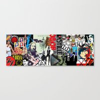 bands Canvas Prints featuring Bands Photobomb by KurtCortis