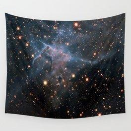 Mystic Mountain Nebula Wall Tapestry