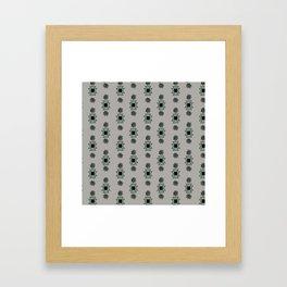 Petroglyphs, Thunderbird Framed Art Print