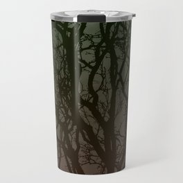 Ombre branches Travel Mug
