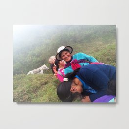 Conversations in Ecuador Metal Print
