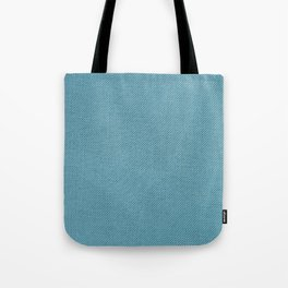 Solid Blue Tote Bag
