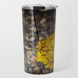 Caged Leaf Travel Mug