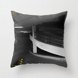 Yellow City 05 Throw Pillow