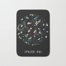 spaced out Bath Mat