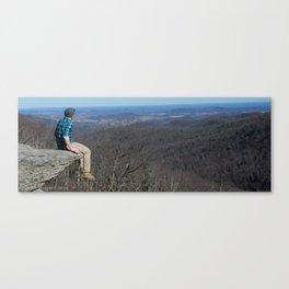 Cliffside Seat Canvas Print