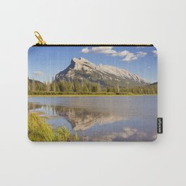 Vermilion Lakes and Mount Rundle, Banff National Park, Canada Carry-All Pouch