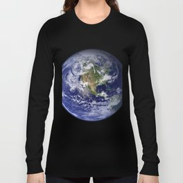Planet Earth - The Blue Marble From Space Long Sleeve T-shirt