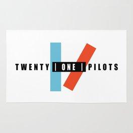 21 pilots metal Rug