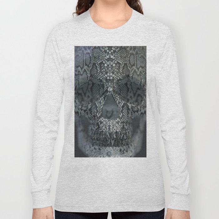 Snake Skull Long Sleeve T-shirt