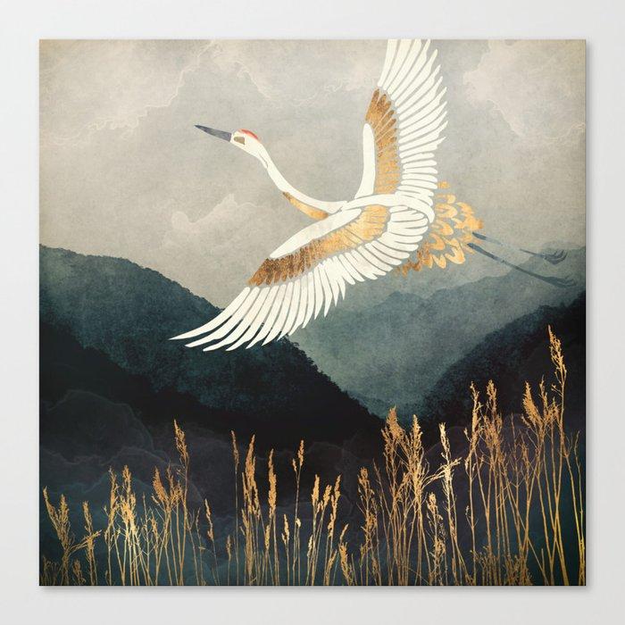 Elegant Flight Canvas Print