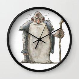 Old Man Wizard Wall Clock