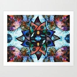 Starburst 2 Art Print