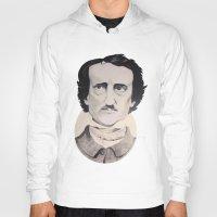 edgar allan poe Hoodies featuring Edgar Allan Poe by Bradlee254