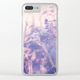 Wild Space Clear iPhone Case