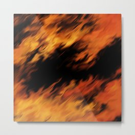 Infernal Agni #fire #burn Metal Print