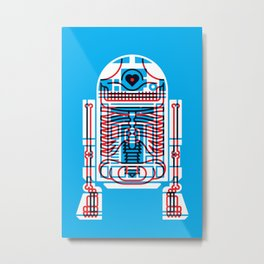 Artoo Metal Print