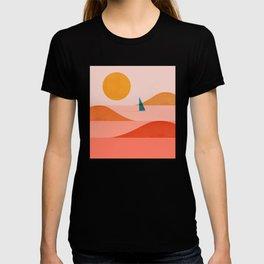 Abstraction_Sailing_Ocean_002 T-shirt