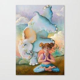 Z imagination Faith & Spirit Canvas Print