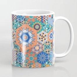 Hexagons Tiles (Colorful) Coffee Mug