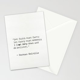 Herman Melville quotes 15 Stationery Cards