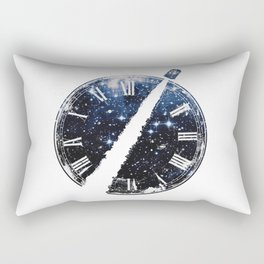 Journey through space and time Rectangular Pillow