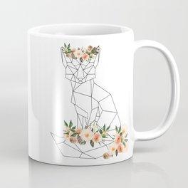 Fox with Flower Crown Coffee Mug